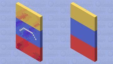 Venezuelan Flag Minecraft Mob Skin