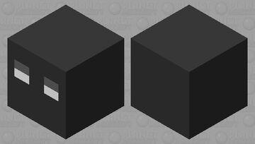 Magma cube shadow Minecraft Mob Skin