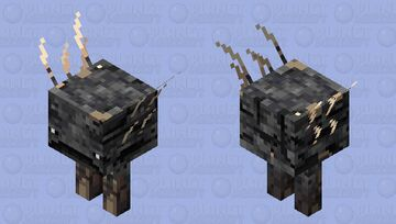 Deepslate strider Minecraft Mob Skin