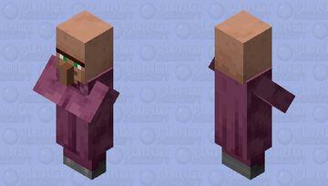 Pillager Inspired Villager (Priest) Minecraft Mob Skin