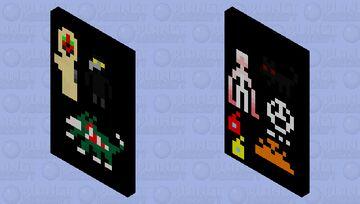scp cape Minecraft Mob Skin