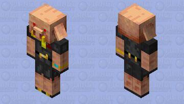 Tuxedo Piglin Minecraft Mob Skin