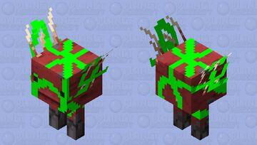 strider with vines Minecraft Mob Skin