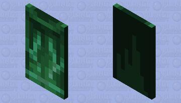 Unused Minecon 2011 cape With Custom Drawn Elytra Minecraft Mob Skin