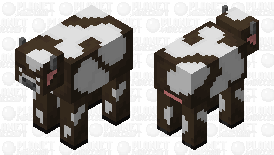 Better Cow Minecraft Skin