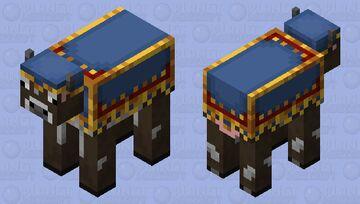 Trader cow Minecraft Mob Skin