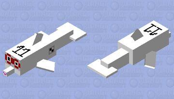 Numberblocks - 11 as a Java Dolphin Minecraft Mob Skin
