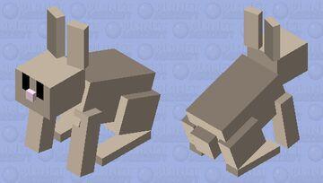 Simplified Rabbit Minecraft Mob Skin