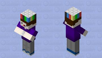Crazy child who likes throwing random cans of soda at people Minecraft Mob Skin