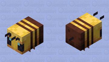 Wingless bee Minecraft Mob Skin