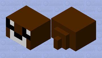 Cute baby Brown Seal Minecraft Mob Skin