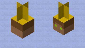 King Kai the fishing bobber Minecraft Mob Skin