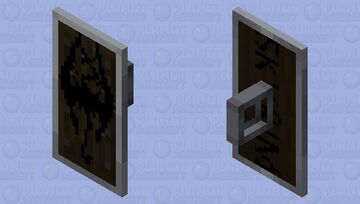 Skyrim-Logo Shield Minecraft Mob Skin