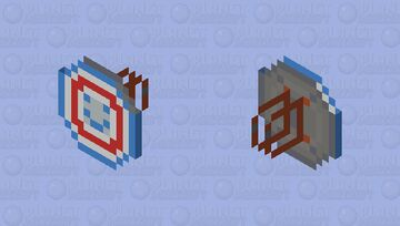 Captain America's Shield [Golden Age] - CAPTAIN AMERICA'S SHIELDS COLLECTION [CUSTOMS] Minecraft Mob Skin