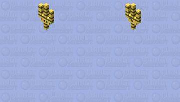 Infinity gauntlet (marvel) Minecraft Mob Skin