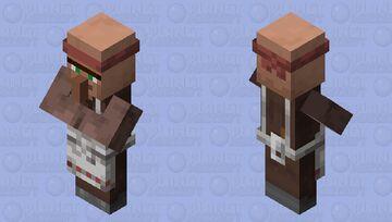 Pillager Inspired Villager (Butcher) Minecraft Mob Skin