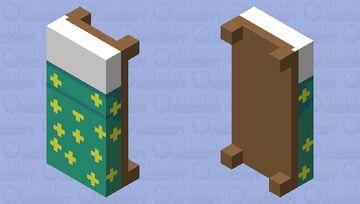 cute kawaii bed Minecraft Mob Skin