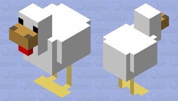 Chicken Simplified Minecraft Mob Skin