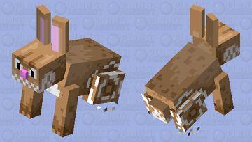 Speed rabbit Minecraft Mob Skin