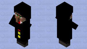 Fancy villager Minecraft Mob Skin