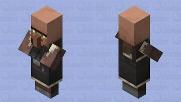 Pillager Inspired Villager (Smith) Minecraft Mob Skin
