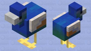 Peacock Minecraft Mob Skin