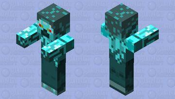 Zombot Steve Minecraft Mob Skin