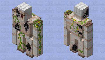 Silverfish Infested Golem Minecraft Mob Skin