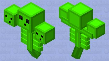 wither slime Minecraft Mob Skin