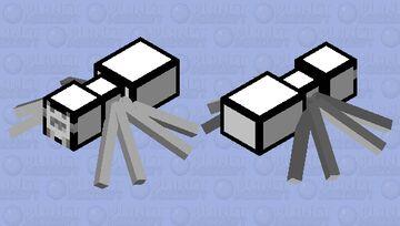 cartoon spider Minecraft Mob Skin