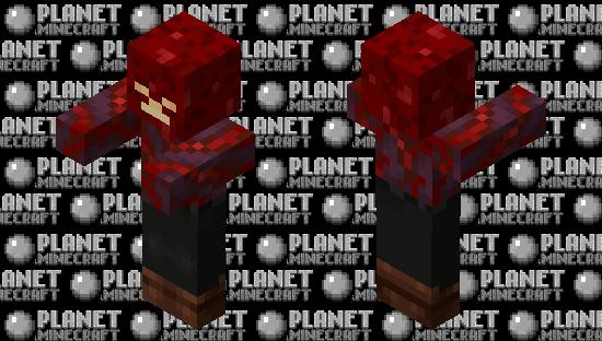 Zombie / from Crimson Forest Minecraft Skin