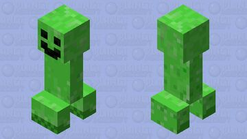 If creeper have a good day Minecraft Mob Skin