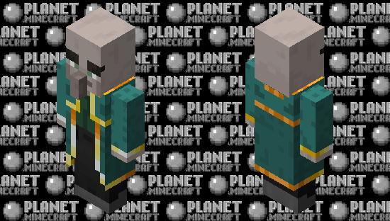 Cillager Evoker(Re Texturing)(2) Minecraft Skin