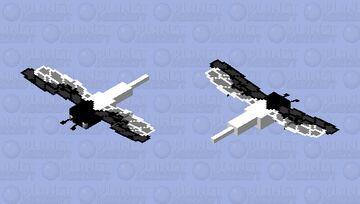 Yin and yang dragonfly Minecraft Mob Skin