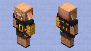 Piglin Brute Edit Minecraft Mob Skin