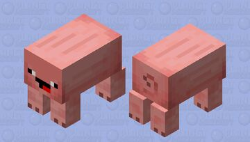 Derpig Minecraft Mob Skin