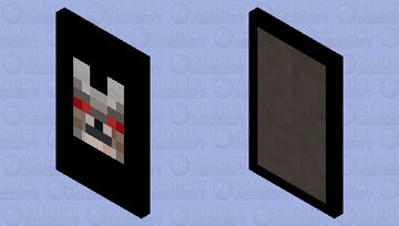 Angry Wolf Cape Minecraft Mob Skin