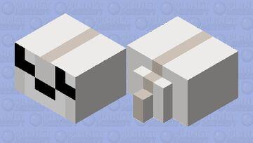 Cute baby White Seal Minecraft Mob Skin