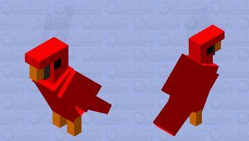 Red bird gumi wuewuewuewuewue Minecraft Mob Skin