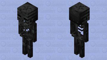 Wither Skeleton Minecraft Mob Skin