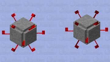 Bag guy Minecraft Mob Skin