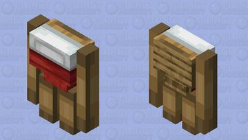 Bed Golem Minecraft Mob Skin
