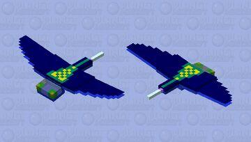 Ocean Ray  Phantom Minecraft Mob Skin