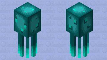 Glow squid (my version) Minecraft Mob Skin