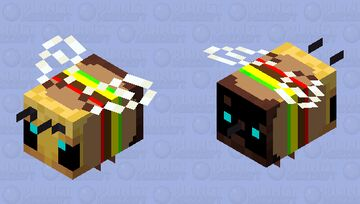 Burger bee Minecraft Mob Skin