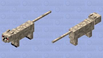 The cave lion (prehistoric skin contest) Minecraft Mob Skin