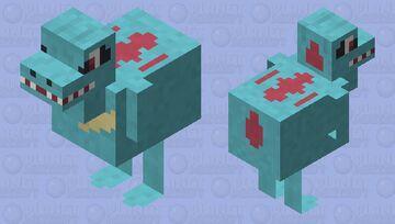 Totodile - Pokemon Chicken Replacer Minecraft Mob Skin