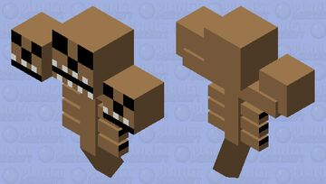How did ya know about Fluffy?! Minecraft Mob Skin