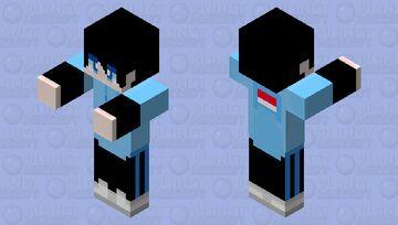 rasindogames but zombie Minecraft Mob Skin