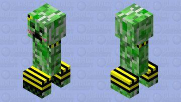 Femboy Creeper Minecraft Mob Skin